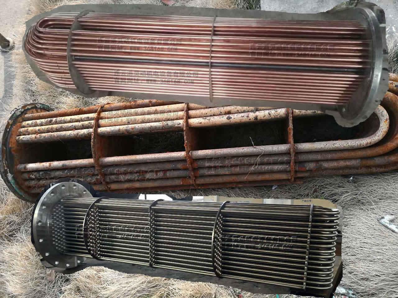容積式換熱(re)器換管-U型管換管